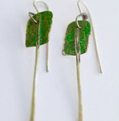 Que Serra paddle earrings